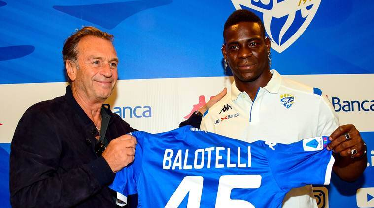 Mario Balotelli has zero fears of failing upon joining hometown club, Brescia
