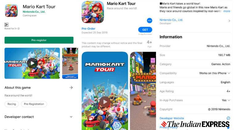 Mario Kart Tour for iOS, Android launching on Sept 25
