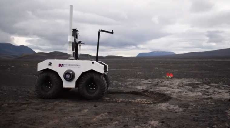NASA's Mars 2020 rover is being tested on the lava fields of Iceland