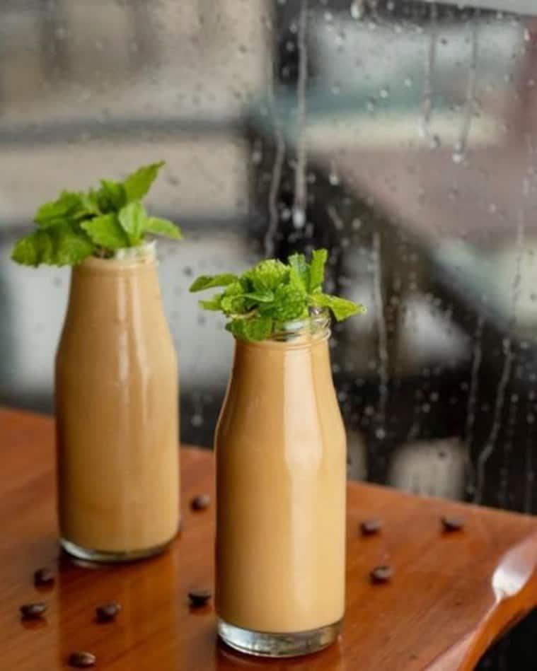 mint coffee, mint coffee recipe, delicious mint coffee, indian express, indian express news