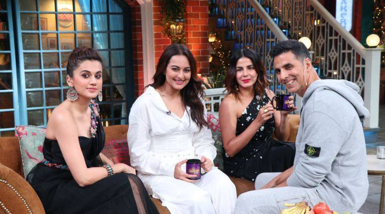 The Kapil Sharma Show preview: Akshay, Taapsee, Sonakshi and Kirti