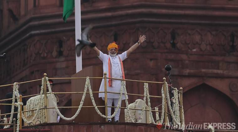 PM Modi's Independence Day speech: Decisive against protracted issues, solicits people's participation