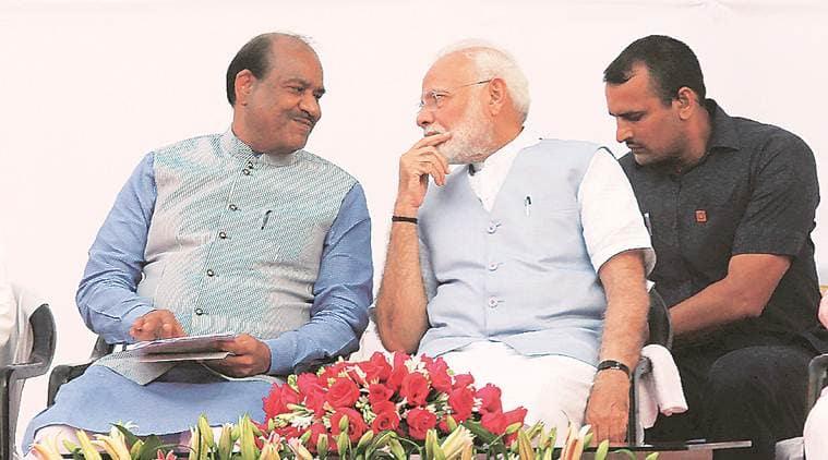 parliament, Parliament upgrade, PM Modi, Om Birla, Narendra Modi, Lok Sabha Speaker Om Birla, modernisation of Parliament building, New India, Indian express