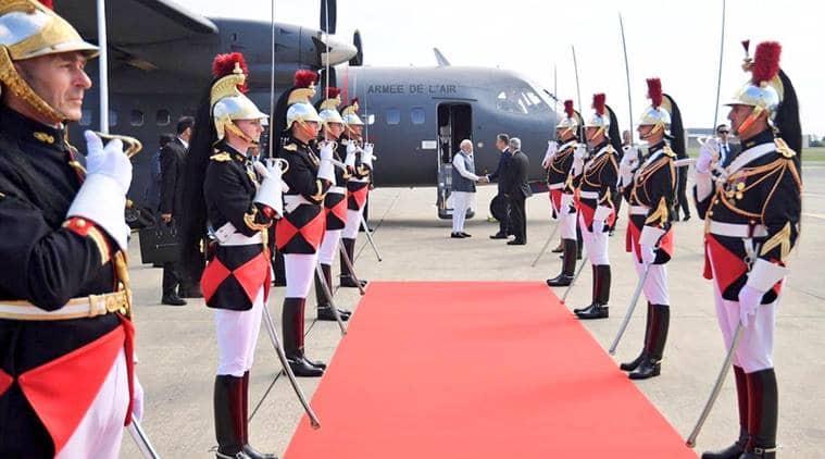 Narendra Modi G7 summit, Modi G7 Summit, Narendra Modi G7, Modi in France, France India G7 Summit, Indian Express news
