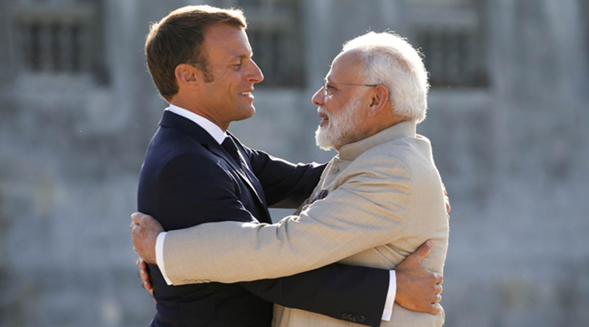 India strongly deplores personal attacks on French President Macron