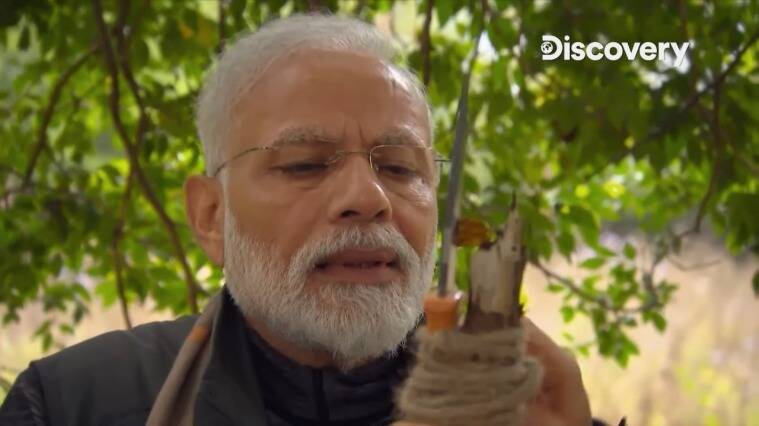 pm narendra modi man vs wild