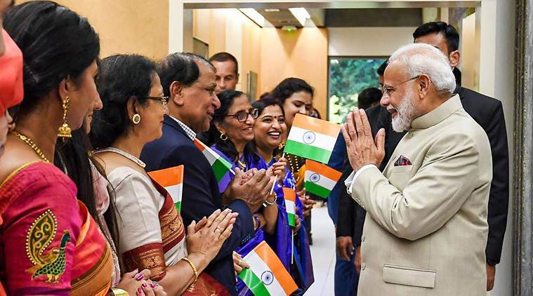 PM Modi receives 'warm welcome' in France