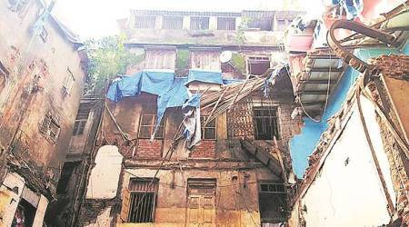 BMC, dilapidted Mumbai buildings, Mumbai civic body, Bombay high court, mumbai news, indian express