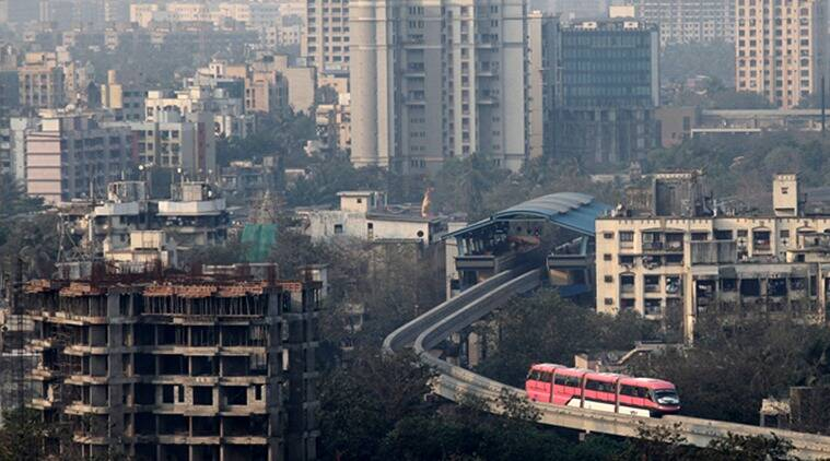 Mumbai city news, Mumbai Hardlook, Mumbai monorail, Mumbai monorail project, monorail service in mumbai, indian express