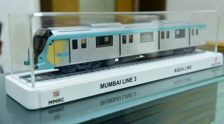 mumbai metro 3, mumbai metro 3 model, mumbai aqua line, mumbai aqua line trains, mumbai metro, mumbai news