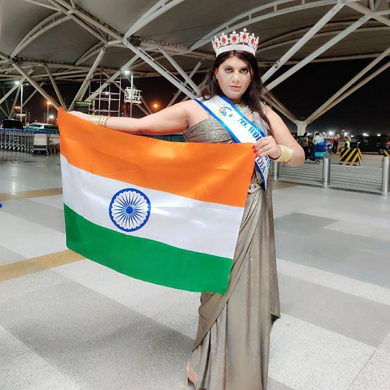 naaz joshi, naaz joshi miss world diversity, naaz joshi, indian express