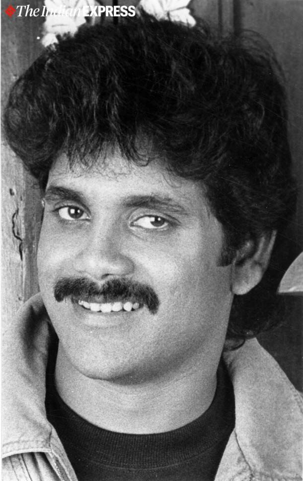 nagarjuna throwback pics