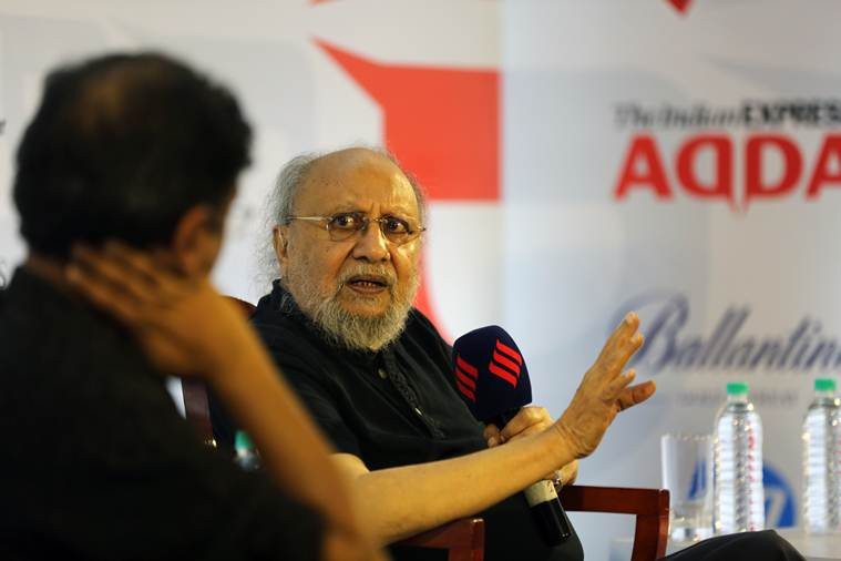 Ashis Nandy, Ashis Nandy Express Adda, Ashis Nandy Indian Express, Express Adda Ashis Nandy, nationalism in india, Ashis Nandy on nationalism, Ashis Nandy on nationalism in India, Express Adda, Indian Express