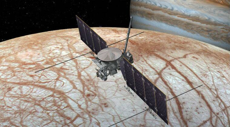 NASA, NASA Europa Clipper mission, Jupiter, Galilean moon Europa, Europa moon, Europa Jupiter, Europa Clipper mission launch, Europa icy moon
