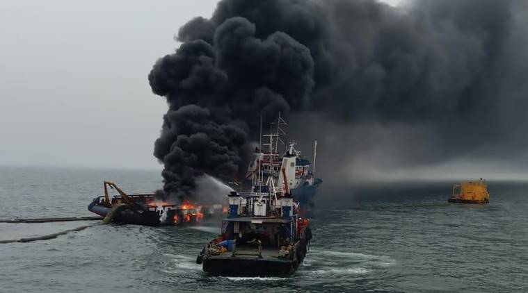 indian navy vessel fire, navy vessel fire vishakhapatnam, indian navy vessel fire vishakhapatnam, indian coast guard, indian navy, india news