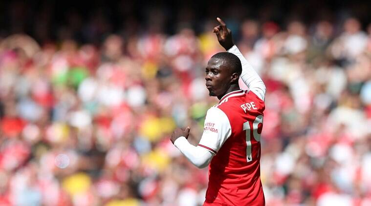 Nicolas Pepe ready for more minutes against Liverpool, says Unai Emery
