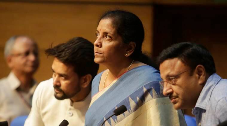 Indian economic slowdown, Nirmala sitharaman on economic slowdown, GDP, auto sector crisis, unemployment, Business, banking crisis, Indian Express