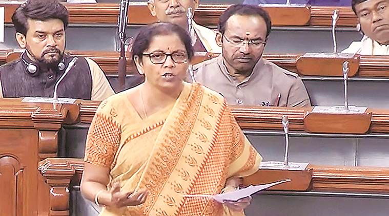 Parliament Monsoon Session, Insolvency and Bankruptcy Code, IBC bill, nirmala sitharaman, bankruptcy code, bankruptcy code amendments, Rajya sabha news, Indian express