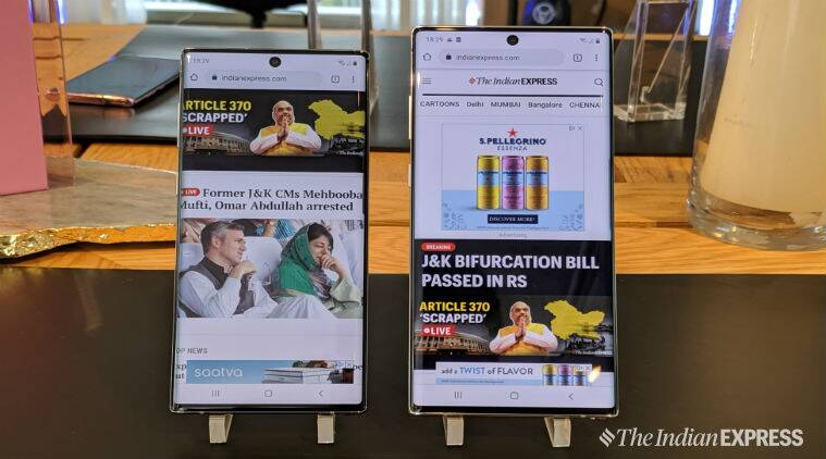 Samsung Galaxy Note 10, Note 10, Galaxy Note 10 price in India, Galaxy Note 10 launch in India, Galaxy Note 10 vs Note 10 Plus, Samsung India