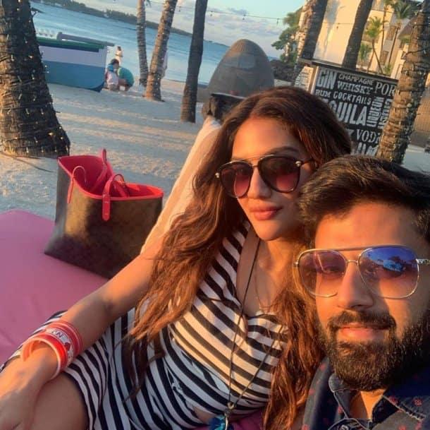Nusrat Jahan honeymoon photos