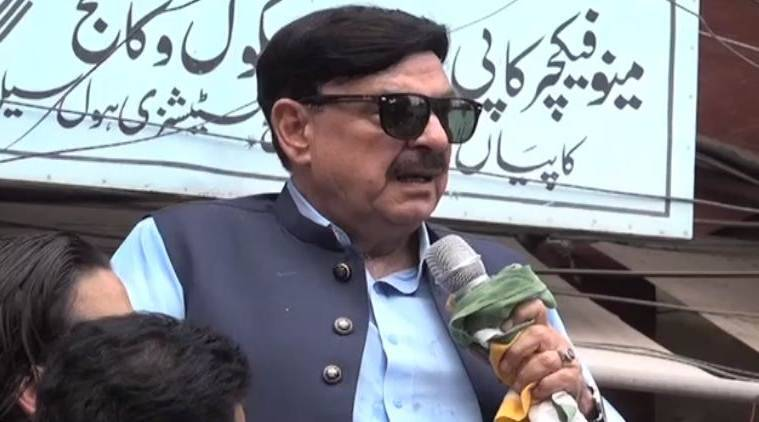 Pakistan Minister gets electric shock during rally after mentioning PM Modi's name