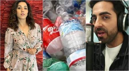 ayushmann khurrana warns against plastic use