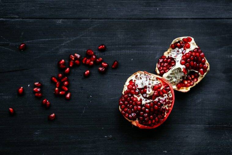 pomegranate. pomegranate for dengue patients, pomegranate health benefits, indian express