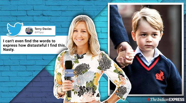 TV anchor apologises for mocking Prince George for taking ballet lessons