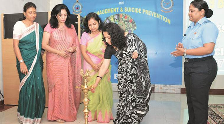 Seminar on stress management and depression held at IAF depot, Pune