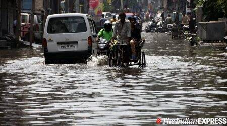 punjab floods, punjab floods death toll, floods in punjab, floods in punjab death toll, punjab rains, punjab monsoon, india news, Indian Express