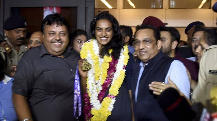 Watch: World champion PV Sindhu returns to hero's welcome