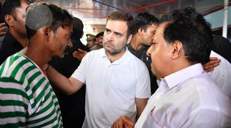 rahul gandhi, rahul gandhi wayanad, rahul gandhi in wayanad, rahul gandhi in kerala, kerala rains, kerala rains live, kerala rains live updates, wayanad rains, kerala landslides, landslide in kerala, landslide in wayanad, india news, Indian Express