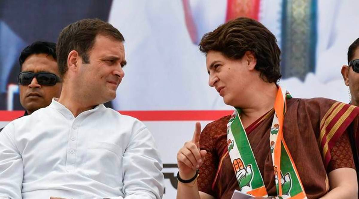 Jungle raj' of caste violence 'peaking' in UP: Rahul, Priyanka ...