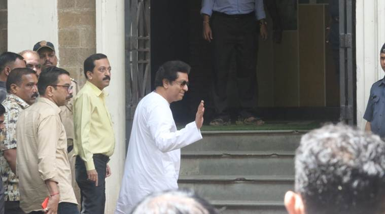Raj Thackeray reaches the ED office
