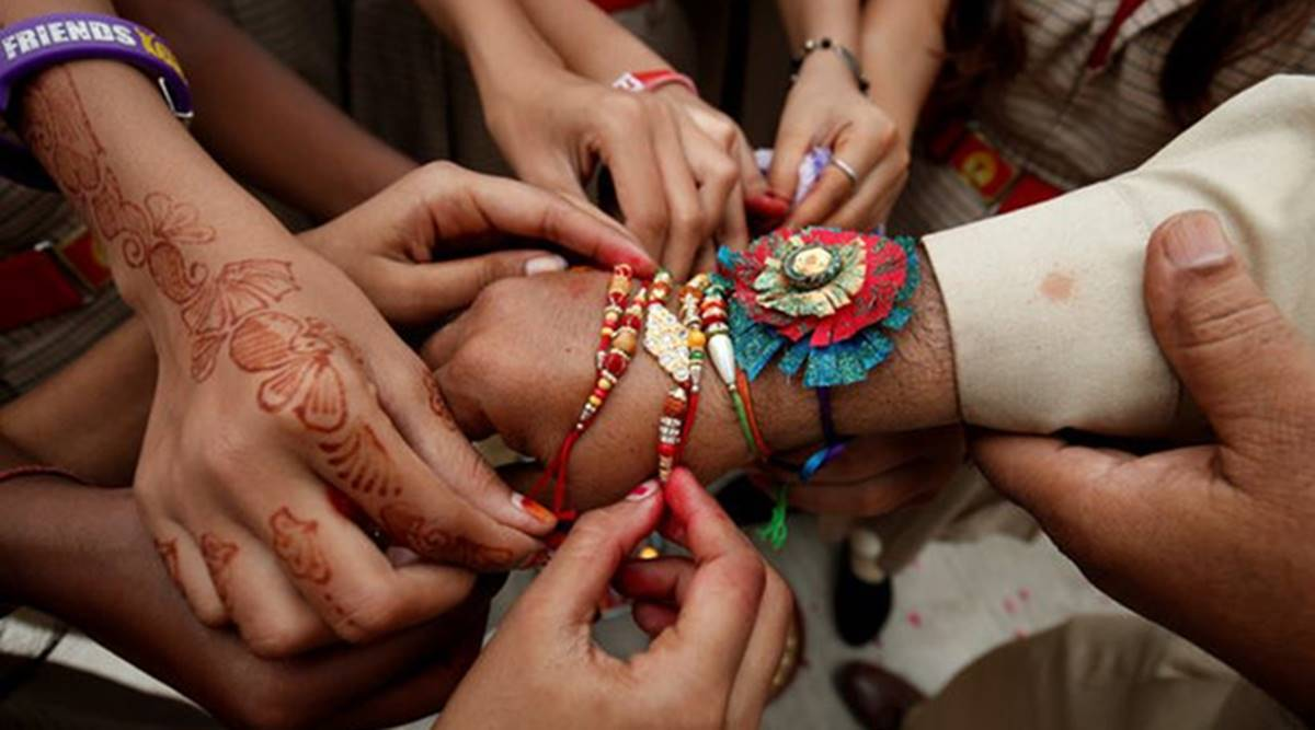 homemade rakhis, different types of homemade rakhis, homemade rakhi designs, how to make rakhi at home, indianexpress.com, indianexpress, rakhi designs, latest rakhi designs, new designs rakhis,