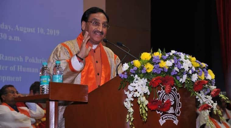 Mumbai city news, ramesh pokhriyal Charaka Rishi remark, ramesh pokhriyal controversial remark, nasa
