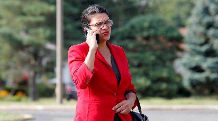 Rashida Tlaib's grandmother weathers global political storm from West Bank