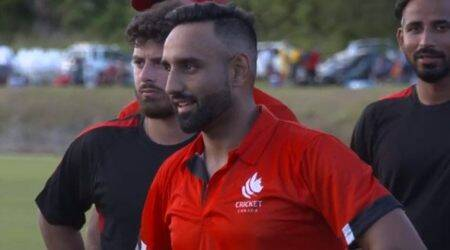 Ravinderpal Singh, Ravinderpal Singh T20I debut, Ravinderpal Singh T20I hundred, Ravinderpal Singh highest score T20I debut, Ricky Ponting T20I debut, T20I records, Canada vs Cayman Islands