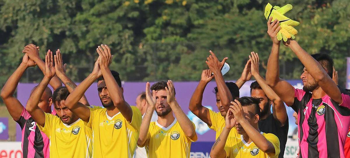 Real Kashmir FC: The right foot forward