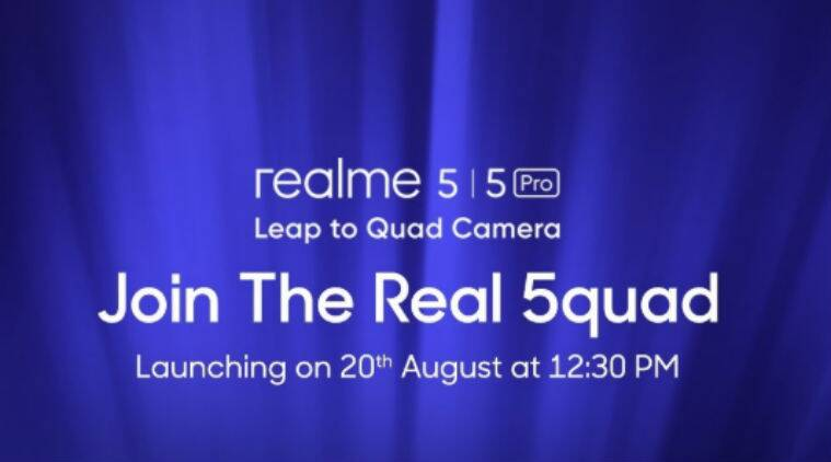 Realme 5, Realme 5 Pro launch tomorrow: All you need to know