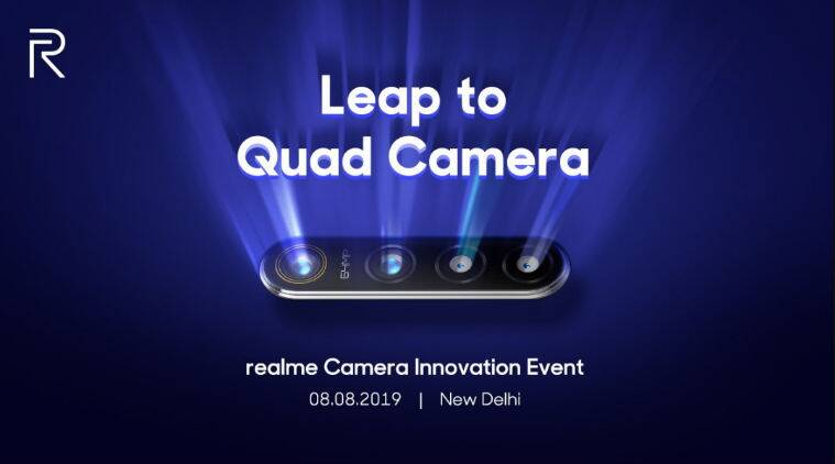 Realme's 64MP Quad Camera Smartphone will go official on August 8