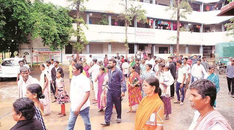 Pune: Citing poor condition of their houses, victims refuse to leave PCMC relief camp