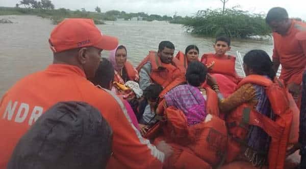 Kolhapur, Sangli, Satara flooded, NDRF