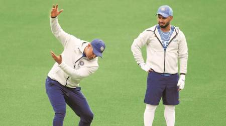 Out playing a reckless shot first ball, Pant shows he's still a work-in-progress