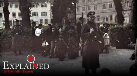 Roma Holocaust Memorial Day, roma genocide, holocaust memorial day, germany holocaust, nazi concentration camps, roma, romani activists, concentration camps, adolf hitler, hitler, nazis, indian express, indian express explained