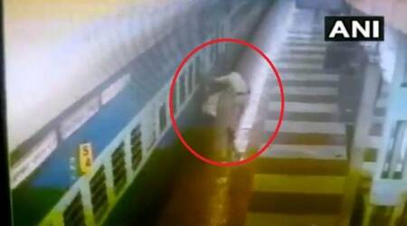 railway protection force, rpf personnel, nampally railway station accident, RPF personnel saves man in Hyderabad station, hyderabad news