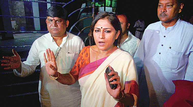 roopa ganguly, bjp mp roopa ganguly son car accident, roopa ganguly son car accident, kolkata city news