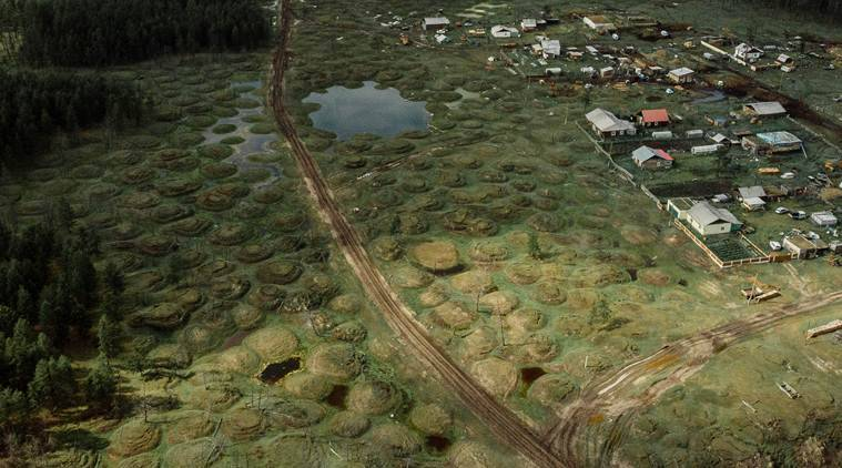 Russian land of permafrost and mammoths is thawing due to climate change