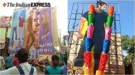 saaho release day photos prabhas