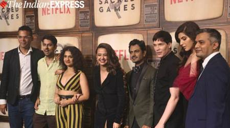 Sacred Games 2 star cast at the season premiere
